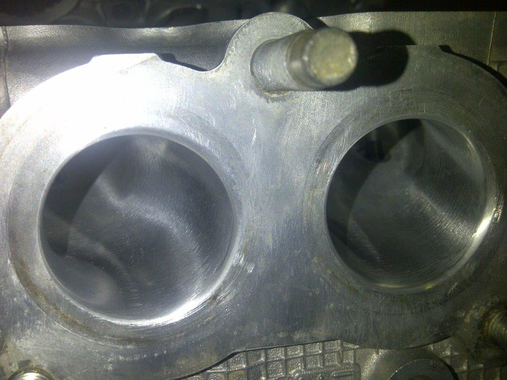 Gas Flowed Cylinder Heads - Gas Flow, Porting & Polishing