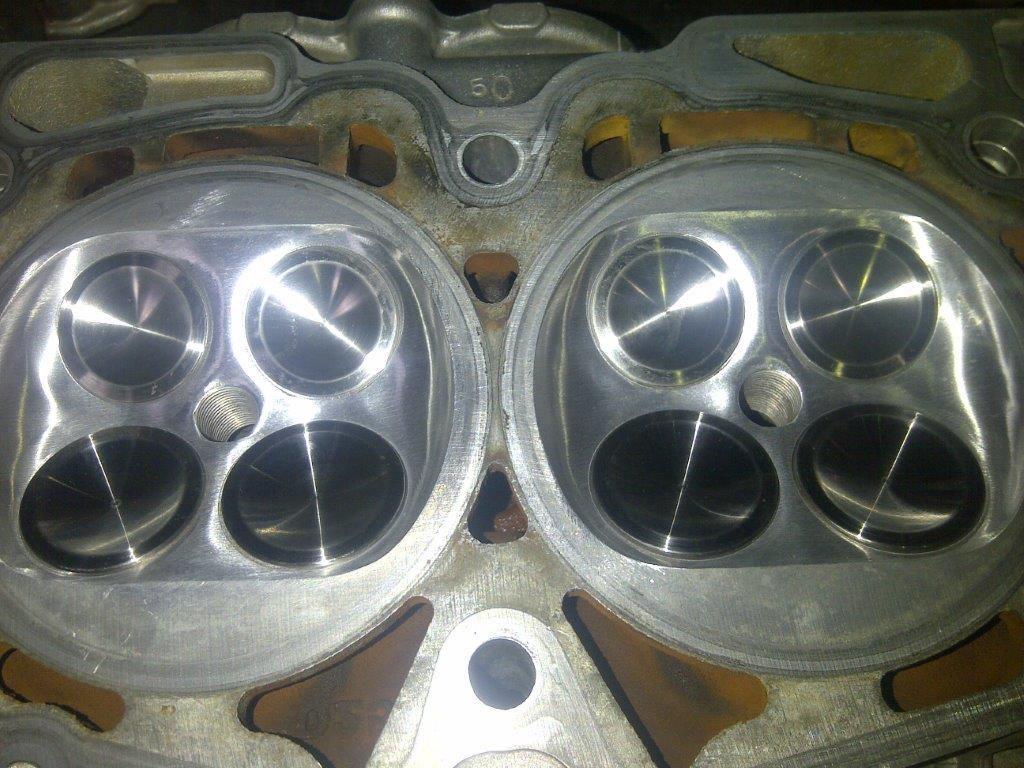 Gas Flowed Cylinder Heads - Gas Flow, Porting & Polishing   SAC